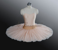 Wholesale Orange Ballet Tutu - high quality children Orange flesh Half Ballet Tutu,beige half ballet tutu for girls,tutu skirts adults,pancake tutu,black tutu