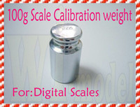 Wholesale Free Weight Brands - Wholesale-OP-F00903 Brand New 100g 100 gram Calibration Weight for Calibrate Mini Digital pocket scale + Free shipping