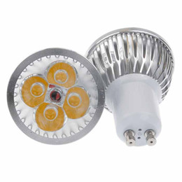 Wholesale Cheap Led Lights Bulbs - Cheap LED Bulbs E27 GU10 MR16 4*3W Warm White Light LED Spotlight bulbs Low Power Comsumption