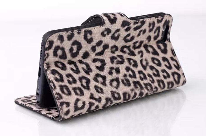 Leopard зерна PU кожаный бумажник чехол для iphone6 4,7 дюймовых iphone6 плюс Case случаях леопард кожи для iPhone 6 6G супер обложки