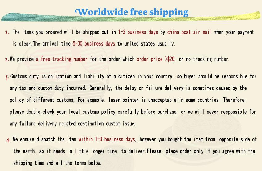 1 free shipping new