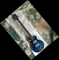 Wholesale Signature Bass - New 4 strings electric Guitar Bass Ace frehley signature model in blue 140610-0801