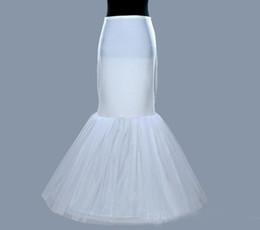 Wholesale mermaid crinoline petticoat - Hot Selling Wedding Accessories 2017 Wedding Bridal Petticoat Crinoline Underskirt White  Ivory Layered Mermaid Petticoats Cheap Plus Size