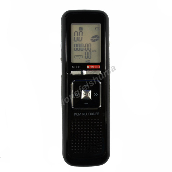 best selling New 4GB 4G USB 384KBPS 650h Digital Audio Voice Recorder Dictaphone Stereo MP3 Player Black Color