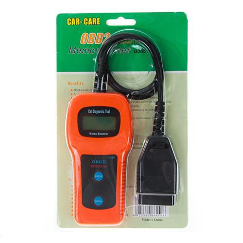 OBD2 U380 Automotive Diagnostic Equipment Car Detector Car Computer Analyzer