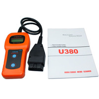 Wholesale Computer Diagnostic - OBD2 U380 Automotive Diagnostic Equipment Car Detector Car Computer Analyzer free shipping