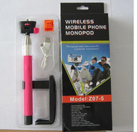 Wholesale iphone camera shots for sale - Group buy 20 OFF Adjustable Handheld Wireless Bluetooth Extendable Camera Shooting Monopod Mount Holder for Iphone s c Samsung Android Smart phone