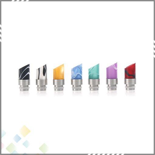 ファッションスタイルアクリルマフラードリップチップワイドボアドリップヒントステンレス鋼アトマイザーマウスピース510 EGO CE6 Vivi Nova E Cig TANKS