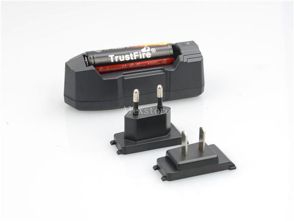Original Trust Feuerladegerät Trustfire tr-010 wiederaufladbare US-amerikanische Gebühr für 18350 18650 14650 18500 16340 Li-Ion-Akku DHL