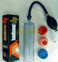 Wholesale Handsome Up Penis Pump Enlarger - Handsome up Penis Pump Penis enlargement Penis extender Adult Sex toys for Man Sex products Pumps Enlargers Vacuum