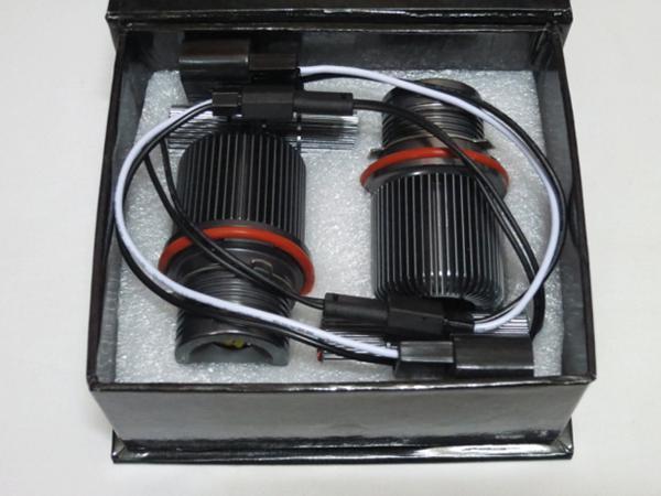 1 par 45W Cree LED Angel Marker Eye Kit CANBUS ERROR LIBRE HALO Faro Lámpara de bombilla Xenon Blanco para BMW E39 E53 E60 E61 E63 E64 E65 E66 E87