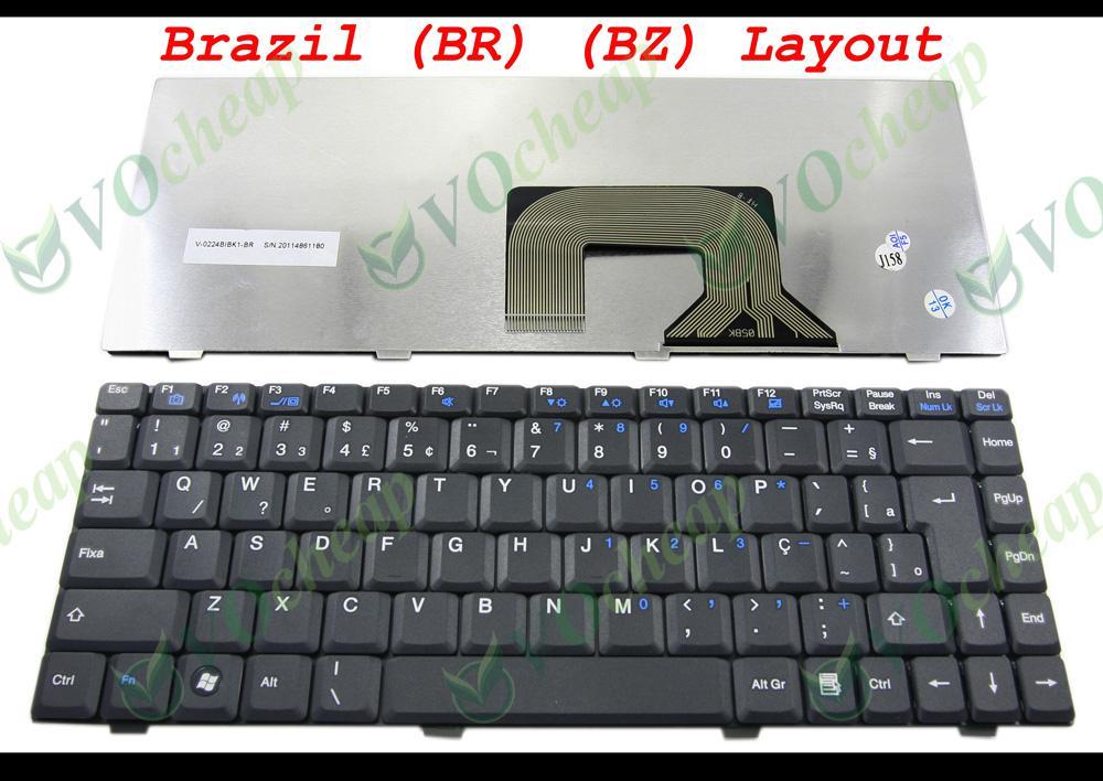2017 New Laptop Keyboard Teclado Para Notebook Semp For ...