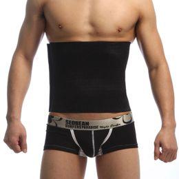 Slimmer Belt Weight Loss Canada - Beer Belly Cummerbunds mens slimming waistband lose weight belt male weight loss waistband man body shaping belts