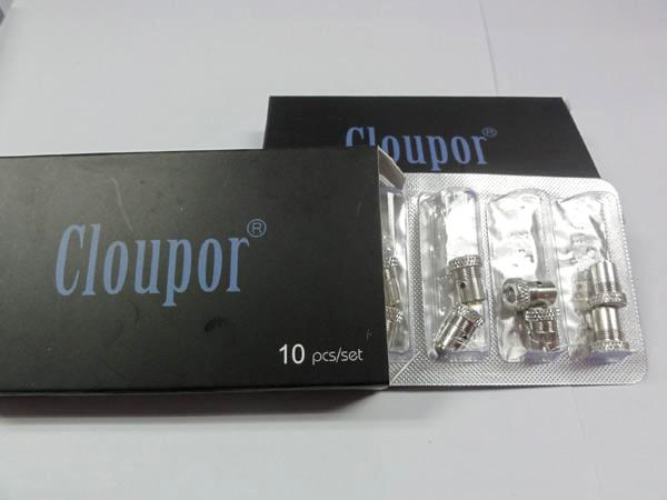 New Arrival Original Cloupor Atomizer Coil Head Cloutank Series M4 M3 Cartomizer for Dry Herb / Wax Core Head Replacement Atomizers Coil