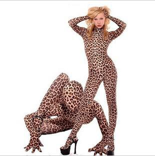 Mascot Halloween Costumes For Women Adult Sexy Animal Skin Leopard Print Lycra Spandex Full Bodysuit Mascott Costumes College Mascot Costumes For Sale From ...  sc 1 st  DHgate.com & Mascot Halloween Costumes For Women Adult Sexy Animal Skin Leopard ...