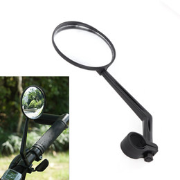 Wholesale Handlebar Mirrors - New Sports Bicycle Bike Road Handlebar Glass Rear View Mirror Reflective Safety Convex Rearview Mirror Cycling Accessory H11345