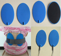 elektroschockzubehör großhandel-16x9,5 cm Elektrodenpads Elektroschock Therapie Ganzkörper Entspannen Massagegerät Pad Zubehör für TENS / EMS Maschine Gesundheitswesen Wiederverwendbare