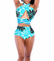 Wholesale Swimwear Push Up Strapless - Hot Selling New Stylish Sexy bikinis Woman Lady Girls High Waist Bandage Push UP Strapless Swimwear Swimsuit Bathing Suit Summer Beach wear