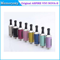 Origine Aspire Vivi Nova-S BDC Clearomizer 100% Authentique Aspire Vivi Nova-S BDC atomiseur bas bobine double 002439