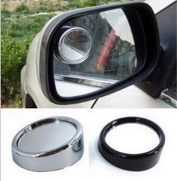 Wholesale Round Convex Mirrors - 2 Pcs Wide Angle Round Convex Car Vehicle Mirror Blind Spot Rear View Messaging