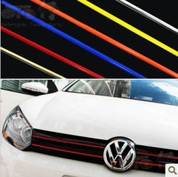 Wholesale Car Decoration Trim - 3mm*10Meters Auto Car Interior Decoration Moulding Trim Strip line Styling Mouldings Free Shipping
