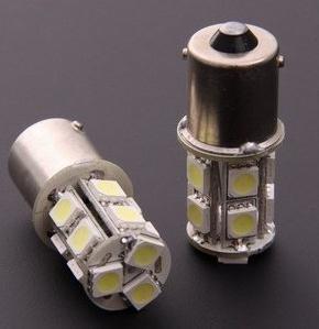 Hot! 20pcs/lots 1156/1157 BA15S P21W 13 SMD 5050 13 LED 13led 13smd Brake Tail Turn Signal Light Bulb Lamp white Auto led Car bulb light 12V