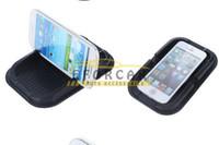автомагнитола телефон владельца автомобиля оптовых-Силиконовые магия приборной панели автомобиля липкие коврик Коврик Анти не скольжения держатель коврики ручки для iPhone PDA MP3/4 мобильный телефон