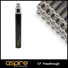 Wholesale Ego Batteries Sale - Wholesale - 2014 PRE-SALE New Developed Original Aspire CF Passthrough Battery ego USB Battery DHL Free Shipping