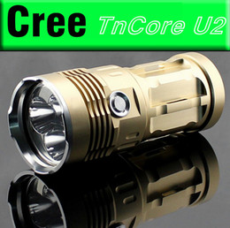 Wholesale Super Bright Flashlight Lumens - Super Bright 4000 Lumens 3 x CREE XM U2 LED Lamp 3 Modes Flashlight Power Source 1 2 3 4 x 18650 3.7v Battery for Indoor Outdoor Activities