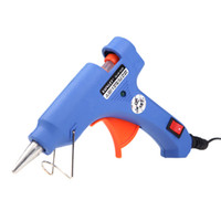Wholesale Wholesale Glue Gun Sticks - XL-E20 High Temp Heater Glue Gun 20W Handy Professional with 50 Glue Sticks Graft Repair Tool H11380