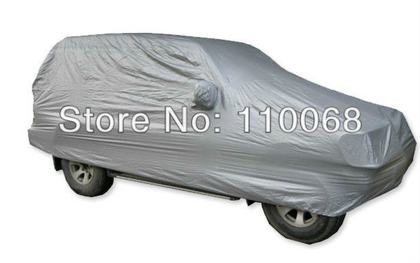 top popular High Quality SUV Car Covers Dustproof Resist snow M- XXL size suit all SUV car Universal car cover 2020