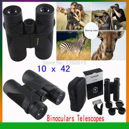Wholesale Black Ops For Free - Wholesale-op-Hot Sale VisionKing 10 x 42 Binoculars Telescopes for Outdoor Activities Bird-watching or Games Match (Black)+Free Shipping