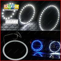 Wholesale Led Car Eye Smd - 2pcs lot 120mm LED Angel eyes ring 39 SMD 3528 1210 Universal Car Auto Headlight LED halo ring DC12V FREESHIPPING GGG
