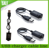 Wholesale Accessories Ego Ce4 - USB charger cable line for ego-t, egot ego-w, ego-c, ego-ce4, F1, LCD series battery free shipping e Cigarette Accessories