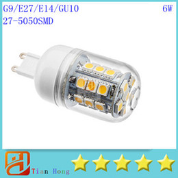 Wholesale E14 Corn 6w - Led small Corn Light G9 E27 E14 GU10 27LED 5050SMD Led Light 110V-240V Led Bulbs