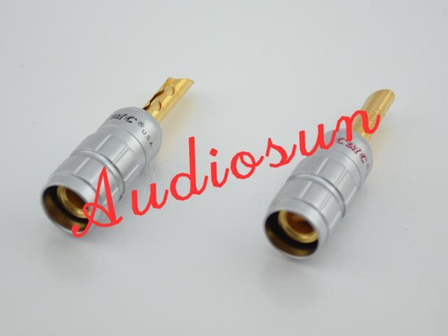 Freies verschiffen 4 Stücke CMC Kupfer Lautsprecherkabel Bananenstecker Anschlussklemme