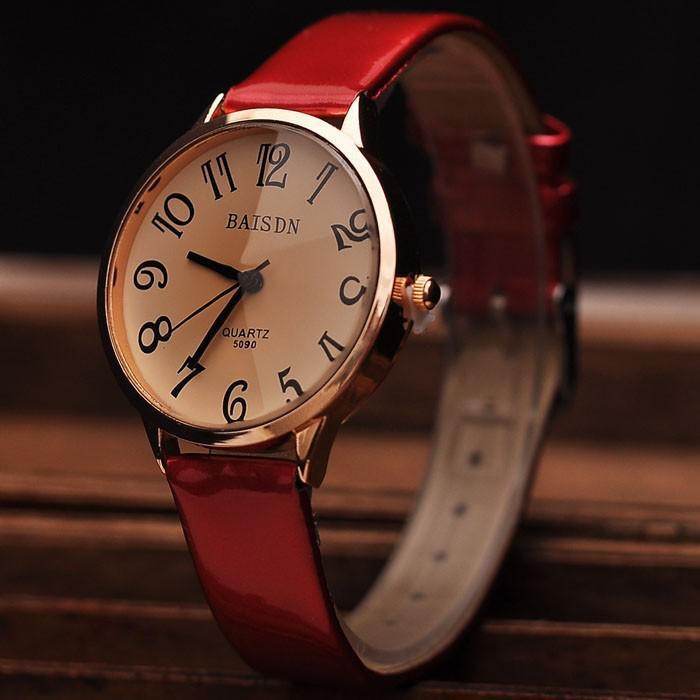 Изысканные женские часы-браслет на тонкую руку