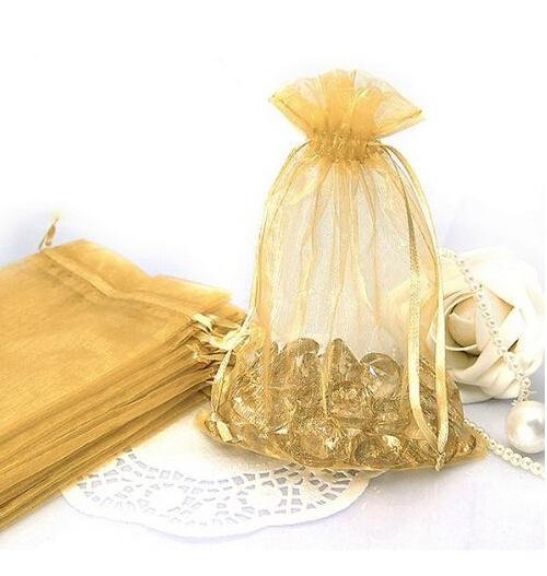 60 Drawstring Sheer Organza Pouches Jewelry Bags Wedding Party ...