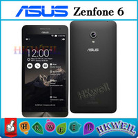 Wholesale Asus Cell Phones - Zenfone 6 For ASUS Android 4.3 Smart Phone 6.0 inch Dual Core 2G RAM 8G ROM 13.0MP Unlocked Cell Phones