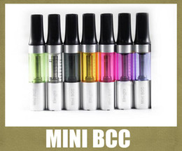 Wholesale Mini Bcc Clearomizer - New Arrival Mini ISmoka BCC EGo Atomizer Clearomizer 1.6ml High Quality Changeable Coil Ismoka Mini Bcc Cartomizer AT031