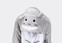 heiße kigurumi großhandel-heißen neuen Herbst Totoro Kigurumi Pyjamas Tier Cosplay Kostüm Pyjamas Tier Nachtwäsche / Bär / Hase / Corgi / Panda / Katze / Wolf / Pikachu / Batman