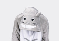 ingrosso caldo kigurumi-hot new autumn totoro Kigurumi Pigiama Costume cosplay animale pigiama Animal Sleepwear / orso / coniglio / Corgi / panda / gatto / lupo / pikachu / batman