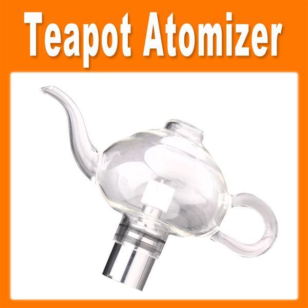 Tea Pot Glass Globe Ceramic Atomizer Vaporizer Dry Herb Teapot Atomizer Tank Kit Kits 0203083