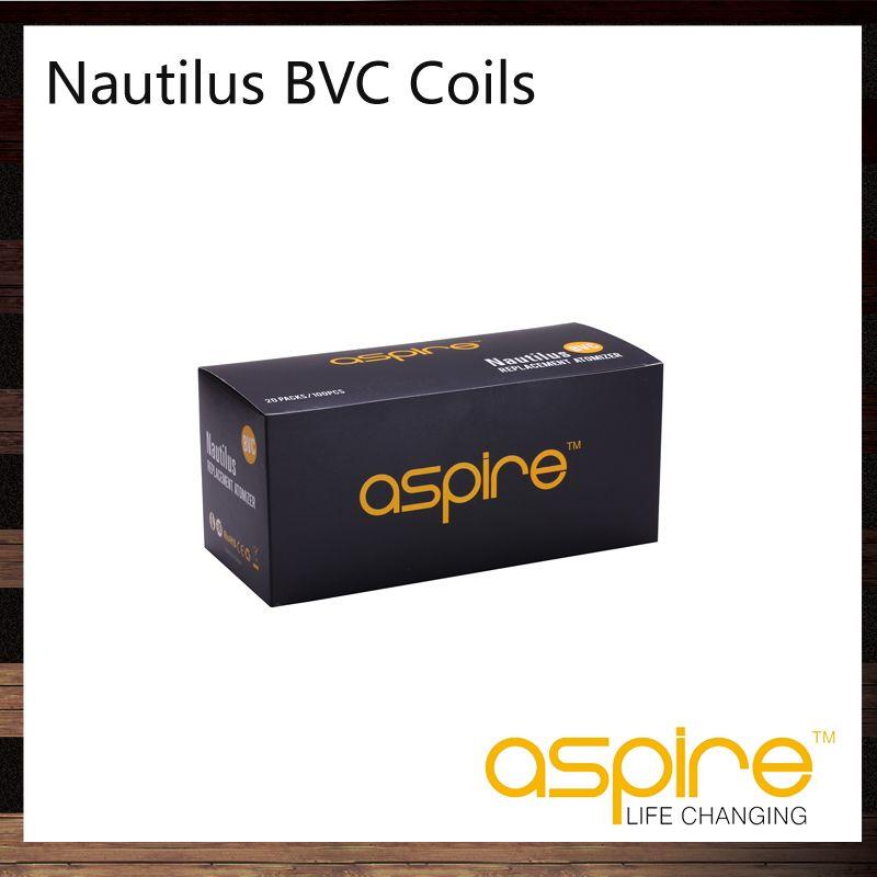 Aspire Nautilus BVC Coils Head Bottom Vertical Coil For Aspire Nautilus Mini Nautilus Tank Replacement Dual Coils