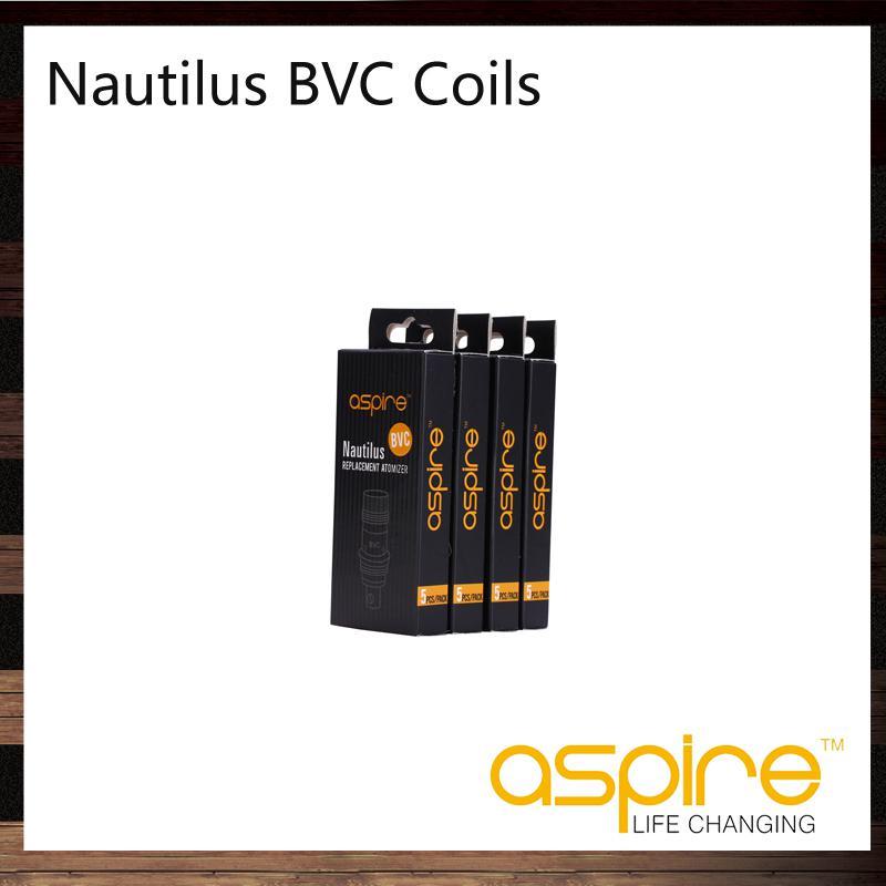 Aspire Nautilus BVC Bobine Testa Sostituire Bobina Aspire Nautilus Mini Nautilus Serbatoio 1.6 Bobina verticale 1,8ohm