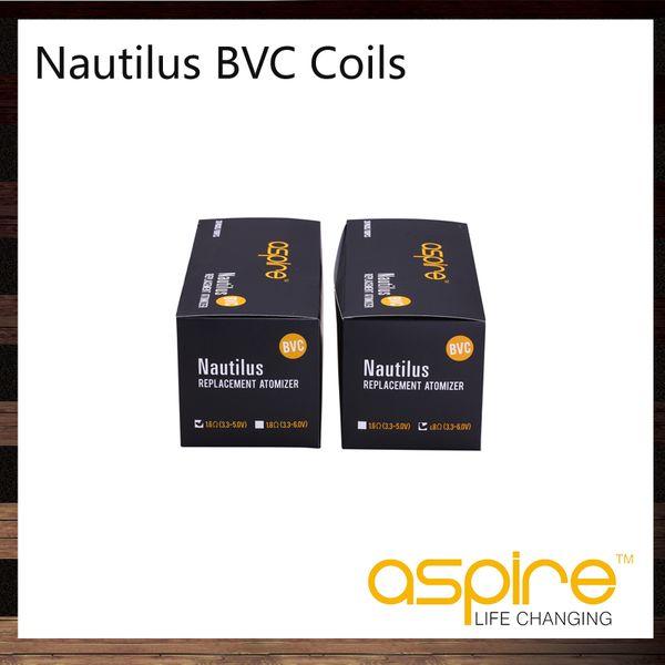 top popular Aspire Nautilus BVC Coils Head Bottom Vertical Coil For Aspire Nautilus Mini Nautilus Tank Replacement Dual Coils 2021