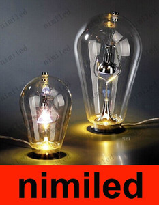 nimi495 Modern European Fashion Style Blow Table Lamp Glass Table Space Lights Lighting Hotel Lamp Bedroom Living Room Desk Lamps