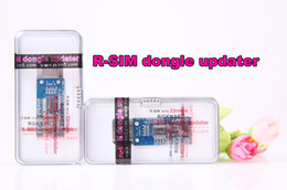 Wholesale Unlock Card Dongle - Free shipping R-SIM dongle adapter for R-SIM Mini R SIM Mini RSIM Mini updater extreme with retail box