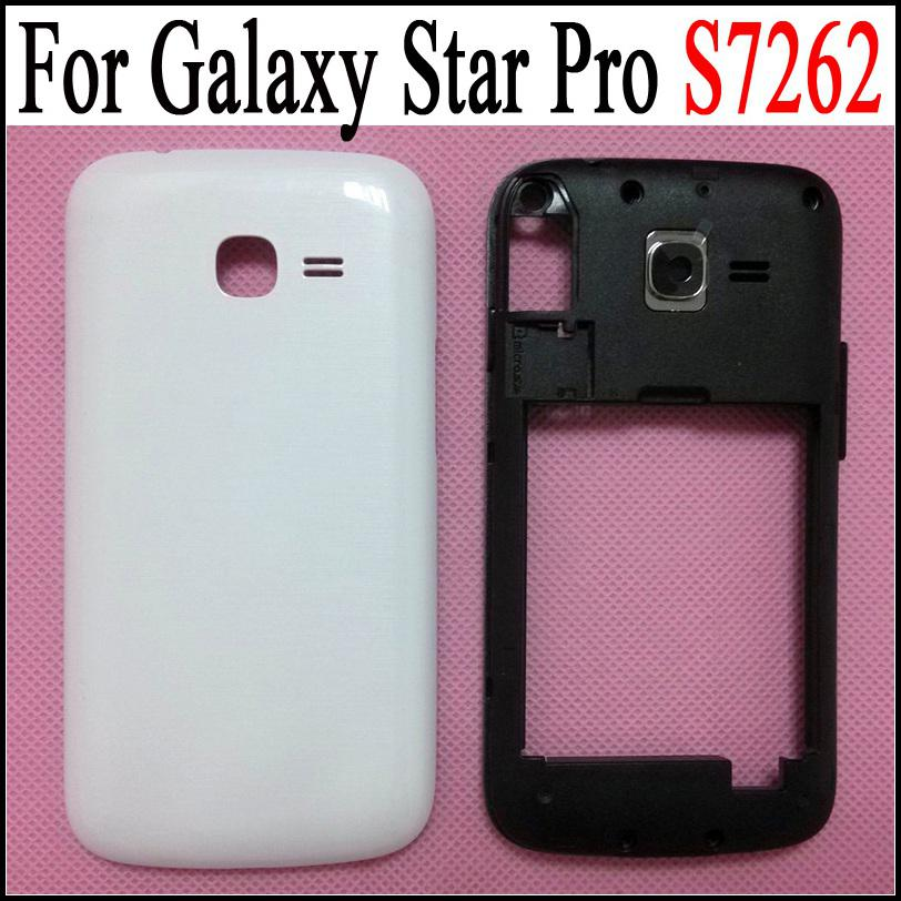 low priced a71e2 7d6fa For Galaxy Star Pro S7262 Back Battery Door Cover Back Frame Housing  Replacement for Samsung Galaxy Star Pro S7262