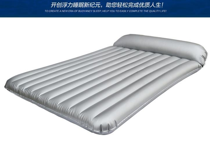 Amazing 180*200CM INFLATABLE DOUBLE AIR BED AIRBED COMFORT MATTRESS CAMPING Water  Bed Mattress Air Filled Mattress